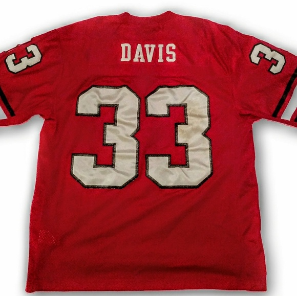 promo code 4549d 317b2 Vintage Nike Terrell Davis Georgia Jersey authent.